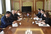 Губернатор Андрей Травников провёл рабочую встречу с Чрезвычайным и Полномочным Послом Доминиканской Республики в РФ Хансом Данненбергом Кастельяносом