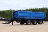 ТОНАР выпустил новый тракторный самосвальный прицеп для перевозки сельхозпродукции