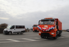 По поручению Андрея Травникова в Коченевском районе построена новая дорога по нацпроекту БКАД