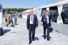 Делегация Новосибирской области начала работу на Иннопроме-2019