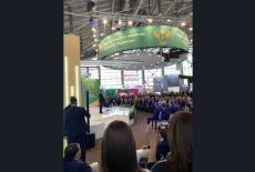 Делегация Новосибирской области принимает участие в работе выставки «Золотая осень» в Москве