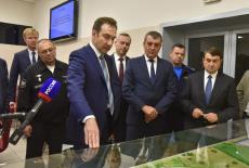 Губернатор Андрей Травников обозначил приоритетные направления модернизации аэропорта «Толмачёво»