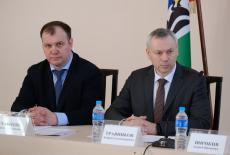 Губернатор Андрей Травников представил и.о. главы Мошковского района Сергея Субботина