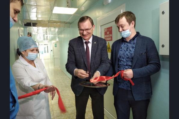 Новая лаборатория ПЦР-диагностики заработала в регионе на базе Городской поликлиники № 1