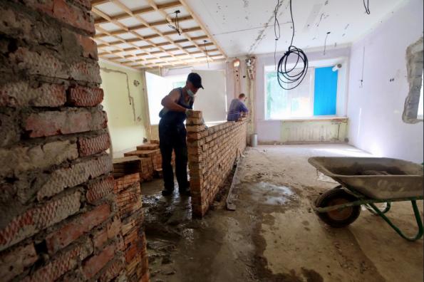 Ремонт помещений для будущего центра амбулаторной онкопомощи в Бердске идет по графику