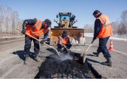 Ямочный ремонт на площади почти 2 млн квадратных метров проведут на областных дорогах в 2021 году