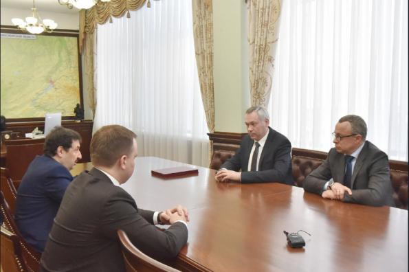 Андрей Травников: Новосибирская область заинтересована в развитии сотрудничества с РАНХиГС