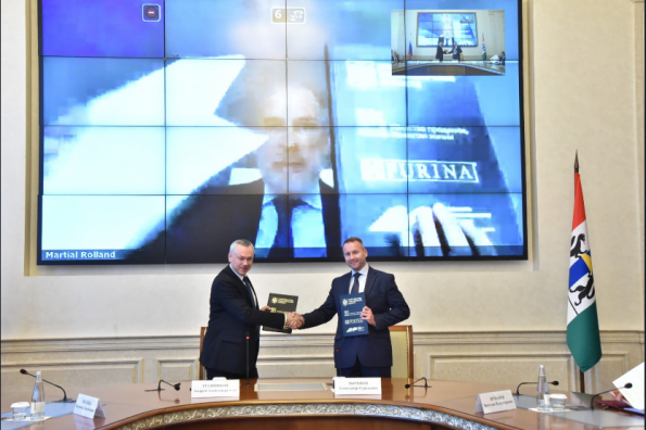 В Новосибирской области стартовал первый для Сибири инвестпроект компании «Нестле» – строительство фабрики «Нестле Пурина ПетКер»