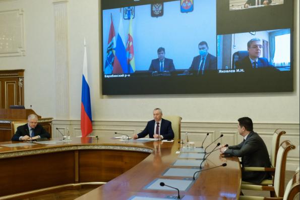 Новую детскую поликлинику в Барабинске построят по региональной программе модернизации первичного звена здравоохранения