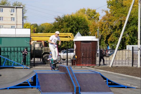В Куйбышевском районе завершено благоустройство объектов нацпроекта, запланированных на 2019 год