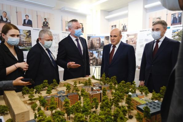 Губернатор представил Премьер-министру РФ проект развития кампуса НГУ