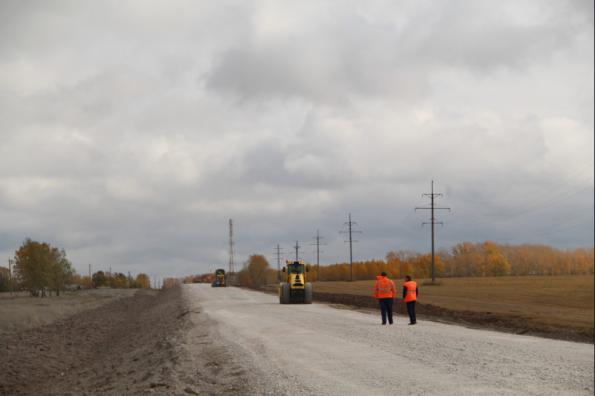 БКАД дошел до деревни Бородавкино: национальный проект улучшает жизнь в отдаленных селах
